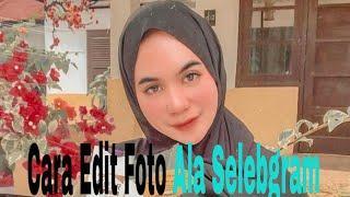 Cara edit foto ala selebgram menggunakan apk Lightroom cc