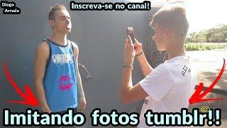 Imitando fotos tumblr!!