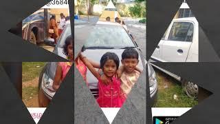 My sister's daughter Miss PADHMASRI R Birthday Photo collection || Neenda Neenda kalam song