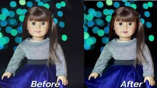 How I Edit My AG Doll Photos
