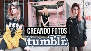 Creando fotos TUMBLR en LUGARES FEOS !! ♡ Danna Alquati