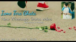 Isme Tera ghata - Gajendra Verma | Amrita khanal & Rahul Aryan | Whatsapp status | Love 4 Creation