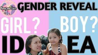 BOY or GIRL | Gender Reveal Idea | Did Clairelaloo won?