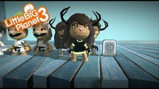 LittleBigPlanet 3 - Free cute girl and boy dlc costumes and free Ariel eyes