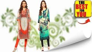 LATEST FASHION LONG KURTI DESIGN IMAGES 2018 - Beautiful Kurti / kurta designs Collection photo