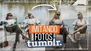 IMITANDO FOTOS TUMBLR #5 DE AMIGAS! |Bárbara Corby