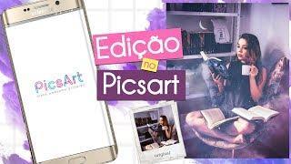 Como editar foto no PicsArt - Edição Galaxy fácil e rápido ♥