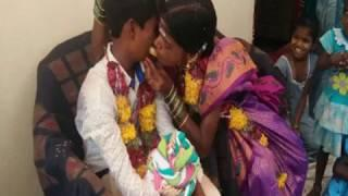 Shocking Moment||13 Year Old Boy Marries 23 Years Girl In Kurnool||Harshika Media