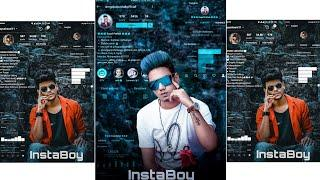 JB - InstaBoy - Viral Editing Of 2019 - PicsArt New Futuristic Instagram Viral Photo Editorial 2019