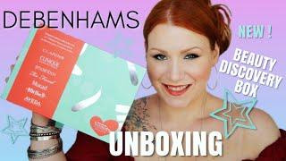 *NEW* DEBENHAMS BEAUTY DISCOVERY BOX UNBOXING - LIMITED EDITION