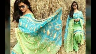 Top 15 Beautiful #Punjabi Suit #Latest Punjabi Suits #Latest Punjabi Suit Designs 2018