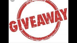 GIVEAWAY ANNOUNCEMENT