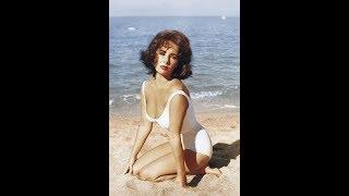 41 Beautiful Vintage Photos of Elizabeth Taylor in Bathing Suits during the 1940s and 1950s