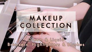 MAKEUP COLLECTION 2018 - Cream & Liquid Bronzers, Highlighters & Blushes