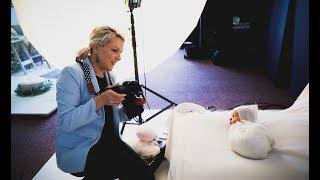 Photoshoot with 14 days old baby boy, newborn photography behind the scenes