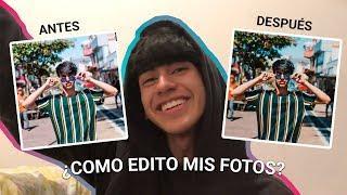 COMO EDITO MIS FOTOS? ????(mis Apps favoritas????) | Alvaro Corrales