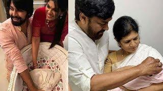 "Chiranjeevi""s Daughter Srija with Baby Girl Latest Photos | Srija Daughter"