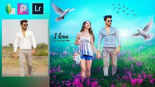 PicsArt Lover Boy Editing Tutorial | Photo Editing with Girl in PicsArt | Romantic Photo Editing