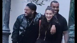 Bella Hadid andThe Weeknd PICTURE EXCLUSIVE: Model and singer confirm they are TOGETHER in Paris -