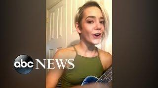 Woman sings musical parody of 'Scary time for boys' in wake of Kavanaugh confirmation