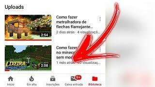 Porque não posto videos com frequemcia no canal ???