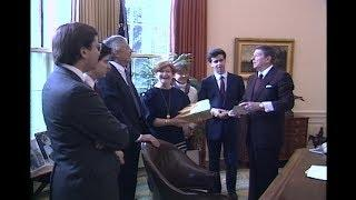 President Reagan's Photo Opportunity on January 29, 1988