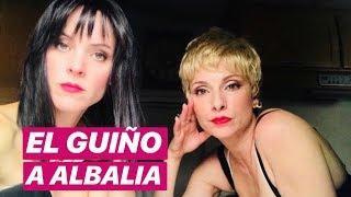 El INESPERADO GUIÑO a ALBA Y NATALIA (OT 2018) en el final de 'VIS A VIS'