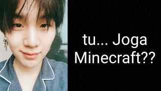 {BTS Ligação} Clarinhah Joga Minecraft??