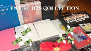 ENTIRE BTS COLLECTION 2019 Pt.1(albums, photo card, official merches & BT21)