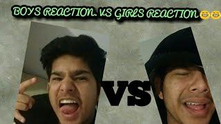 "Must Watch |Reaction to likes on pictures ""Boys VS Girls"" 
