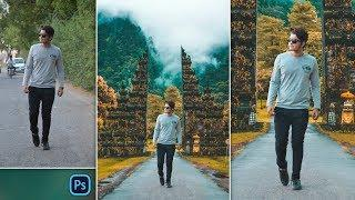 Boy Walk-in Style | Bali | Photo Manipulation Like Pakka Editz | PZ Editz Photo Editing in Photoshop