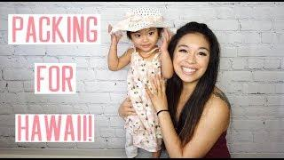 Packing for Hawaii + Aila's Pat Pat Haul | April's Beautiful Mess