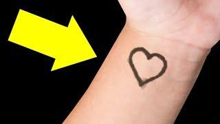 If You See a Heart on a Child's Wrist, Here's What It Means