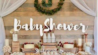 BABY SHOWER SET UP + GUEST PHOTOS ????