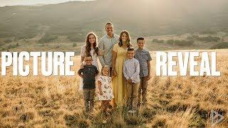 BINGHAM FAMILY PICTURES 2018   FAMILY PHOTO SHOOT PICTURE REVEAL AND REACTION