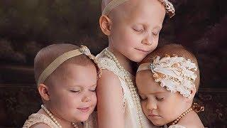 These Girls Posed For A Photo While Fighting Cancer – But Their Latest Picture Is Heartbreaking