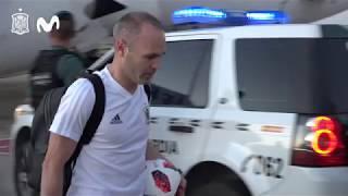 La Selección Española aterriza en Madrid tras participar en el Mundial de Rusia