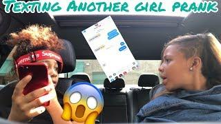 Texting Another Girl Prank on bestie