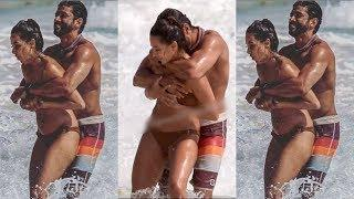 HOT UNSEEN pictures of Farhan Akhtar and Shibani Dandekar from their beach vacay go VIRAL