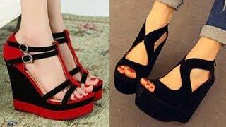Platform Heel Sandal Design | New High Heel Sandal Design Image/Photo Collection | Sandal For Girls