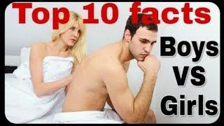 TOP 10 facts BOYS vs GIRLS /JEE TALKS/tamil