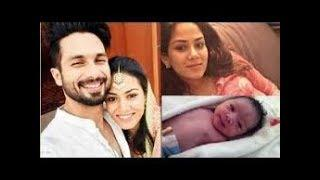 MIRA RAJPUT and SHAHID KAPOOR BLESSED WITH BABY BOY | MIRA RAJPUT BABY | MIRA RAJPUT DELIVERY