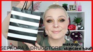 SEPHORA & DRUGSTORE MAKEUP, SKINCARE HAUL | Smashbox, Fenty Beauty & More!