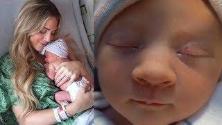 COLE & SAVANNAH NEW BABY GIRL DELIVERY CUTE MOMENT'S | COLE & SAV The LaBrant Family