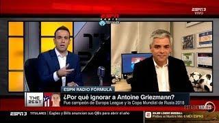 Escandaloso que Griezmann y Messi No Estén en la Terna del Premio The Best