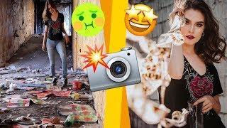¡FOTOS COOL EN LUGARES EXTREMADAMENTE FEOS! - UGLY LOCATION CHALLENGE -  SUSIDEAS ????