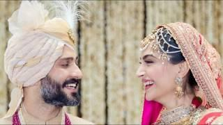Actress Sonam Kapoor & Anand Ahuja Wedding Photo Collection | Sonam Kapoor Marriage Photos