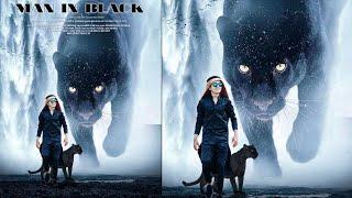 JB - PicsArt Man In Black Photo Editing Tutorial - Black Panther Movie Poster Editing Tutorial 2018