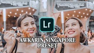 Edit Foto Ala Selebgram @AWKARIN Singapore Preset | #BKEDIT10