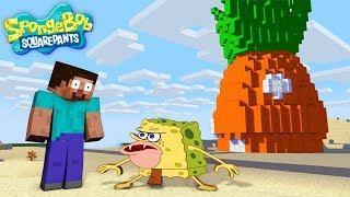 Monster School : SPONGEBOB SQUAREPANTS Game Challenge - Sponge bob in Minecraft Animation